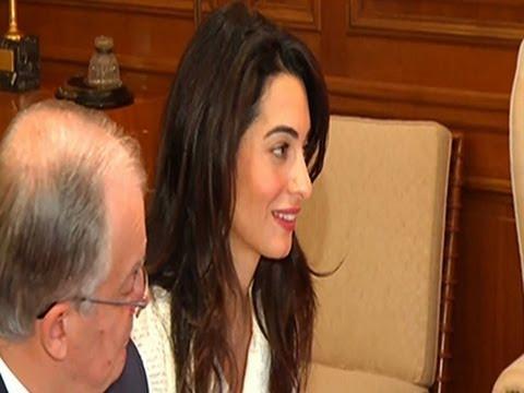 Clooney's Wife Aids in Return of Greek Sculpture News Video
