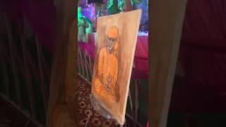 Bhul phulekhe tainu , Bhajan by Krishna ji, live painting show by Nandlal Ahi