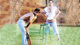 Salman Khan PLAYING CRICKET With Father Salim Khan - RARE MOMENT - Salman Khan 51st Birthday Special