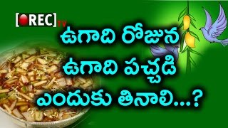 Ugadi Pachadi Importance On Ugadi Festival | Why Should We Eat On This Day | Rectv India