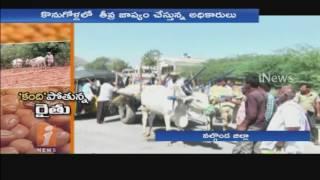 Red gram Farmers Demand price rate In Nalgonda District | iNews