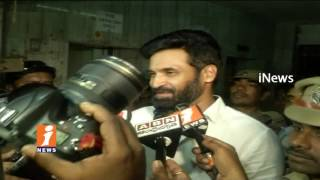 Subbaraju Speaks To Media After SIT Investigation | Tollywood Narcotics Case | iNews
