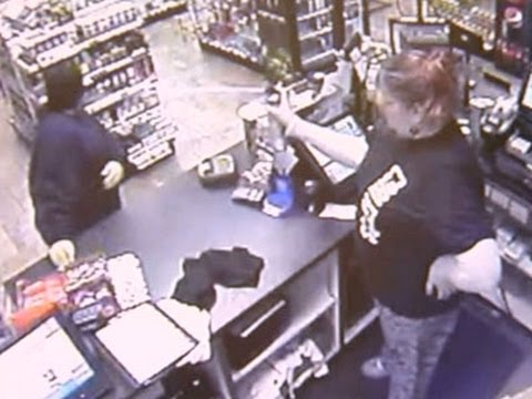Store Clerk Stops Would-be Bandit With Bug Spray News Video