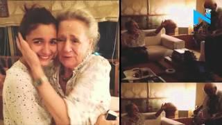 When Alia Bhatt's grandparents leave her in tears News Video