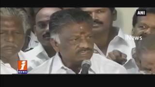 After Jayalalitha Death, War In Tamil Nadu For CM Seat   iNews
