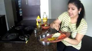 Soya bean salad, healthy salad recipe, salad recipe Indian