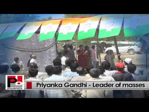 Charismatic Congress campaigner Priyanka Gandhi - Charming personality