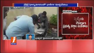 GHMC Demolitions Drive Continuous Over Illegal Construction On Nalas In Hyderabad | iNews