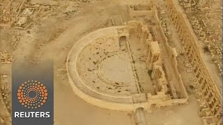 Drone video reveals Syria's Palmyra after IS News Video
