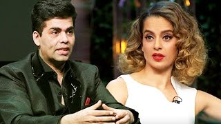 Angry Karan Johar LASHES Out At Kangana Ranaut For Her Insulting Comment