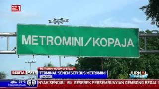 Ratusan Metromini di Terminal Senen Mogok Beroperasi