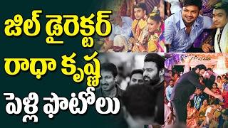 JIL Movie Director Radha Krishna Marriage Video | Wedding Photos | Prabhas, GopiChand | Top TeluguTV