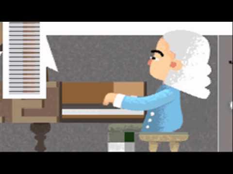 Who invented the Piano?  Bartolomeo Cristofori's 360th Birthday Google Doodle