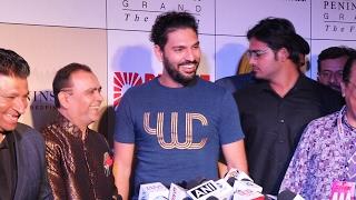 Cricketer Yuvraj Singh At 3rd Bright Awards 2017