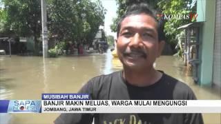 Sungai Meluap, 7 Desa Terendam Banjir