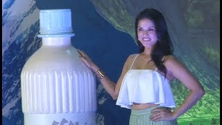 Sunny Leone visits at the launch of mineral water Brand