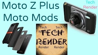 Moto Z Plus Moto Mods | Transform your phone in a snap | Motorola Lenovo | Tech Render