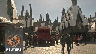 Universal LA theme park hopes fans buy into new 'Harry Potter' world News Video