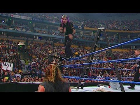 Jeff Hardy vs. Raven - Hardcore Championship- SmackDown, December 28, 2000 - WWE Wrestling Video