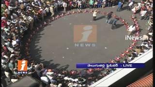 Ganesh Immersion Grand Celebrations At Tank Bund | Live Updates | iNews
