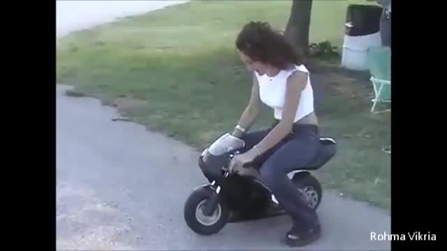 Video Lucu Motor Jatuh Bikin Ketawa Ngakak