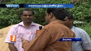 Illegal Sand Transport mafia Rises With Govt Officials Supports In Eluru | Ground Report | iNews