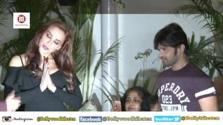 Himesh Reshammiya & Iulia Vantur At Launch Of Song Every Night And Day   1