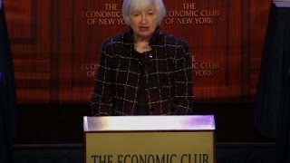 Yellen- Fed Foresees Gradual Pace of Rate Hikes News Video