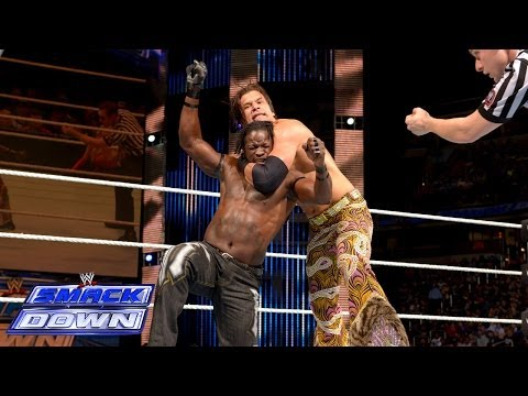 R-Truth vs. Fandango- SmackDown, Jan. 3, 2014 - WWE Wrestling Video