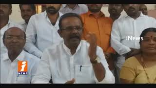 TRS MP Boora narsaiah Goud Comments On BJP Over AIIMS Issues | iNews