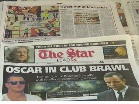 Pistorius Reportedly Involved in Nightclub Brawl News Video