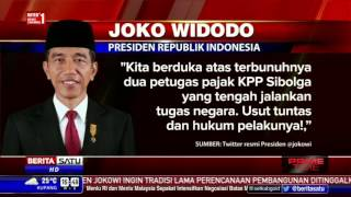 Jokowi Minta Kasus Tewasnya Petugas Pajak Diusut Tuntas