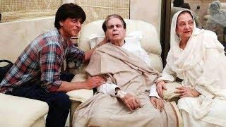 Shahrukh Khan MEETS Dilip Kumar At His House