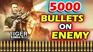 Salman Khan FIRED 5000 Bullets In 3 Days In Tiger Zinda Hai