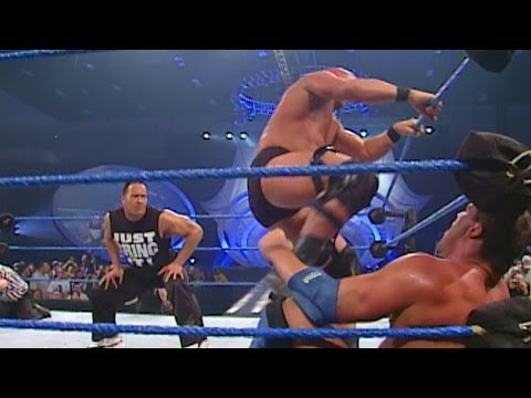 """Stone Cold"" Steve Austin vs. Kurt Angle - WWE Championship Match- SmackDown, March 1, 2001 - WWE Wrestling Video"