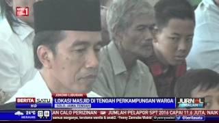 Jokowi Mengisi Libur Panjang di Kampung Halaman