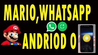 Super Mario,Whatsapp, Android O Telugu Tech Tuts Tech News # 1