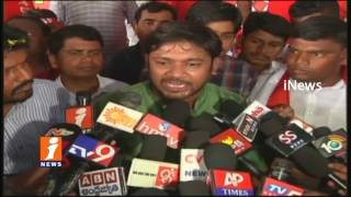 Kanhaiya Kumar Speech At AISF AIYF Long March In Kadapa | iNews