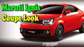2019 Maruti Ignis FRONTE 2-door coupe concept revealed II Rectv india