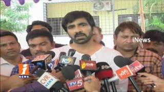 Actor Ravi Teja Gives Clarifies On  Skipping In Brother Bharath Funeral | Hyderabad | iNews