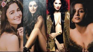 Alia Bhatt, Sunny Leone, Vidya Balan Goes TOPLESS for - Dabboo Ratnani Calendar 2017