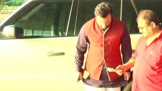 Saif Ali Khan spotted at the airport