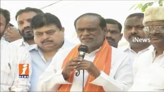 T BJP MLA K Laxman Speech At Meet The Press Program In Somajiguda   Telangana Formation Day   iNews