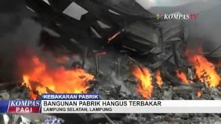 Pabrik Makanan Ringan Hangus Terbakar