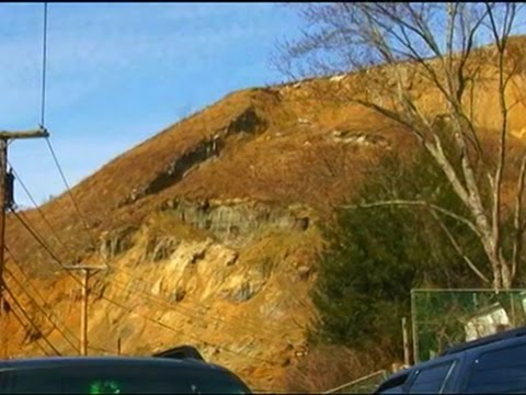 Raw- Landslide at W.Va. Airport Caught on Tape News Video