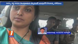 MLA Roja Selfie Video Police Stop Her at Gannavaram From Attending National women Parliament   Inews