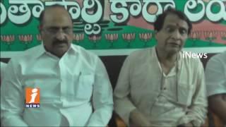 Suresh Prabhu Participated in BJP Sabka Saath Sabka Vikas Program at Tenali | iNews