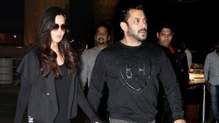 Salman Khan & Katrina Leave For Austria For Tiger Zinda Hai Shooting, SPOTTED At Airport