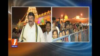 AP And Telangana VVIP's  Rush At Tirumala For Vaikunta Darshan | Tirupati | iNews