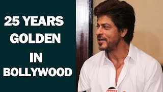 Shahrukh Khan Reaction On Completing 25 Years In Bollywood